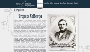 """Starsza wersja strony cyklu """"Tropem Kolberga"""""""